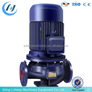 Hot sale!!!ISG cold hot water centrifugal pump vertical inline water booster pump