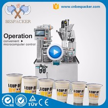 Factory price honey cup filling and sealing machine