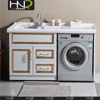 Mobili Da Bagno Vanity Lavanderia Bacino Con Cabinet In Alluminio ...
