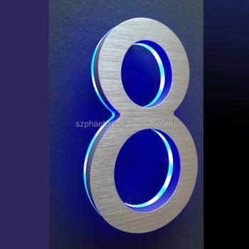 Manufacturer Custom Office Apartment Hotel Door Numbers