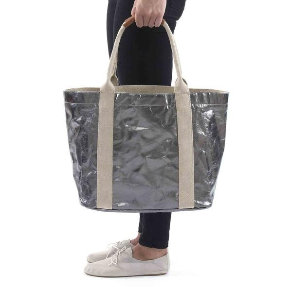 washable tearproof Kraft Paper shopping handbag