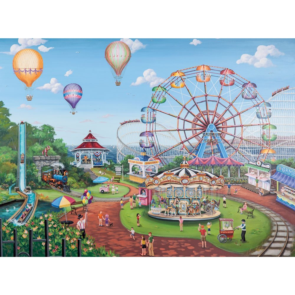 Buy Bits and Pieces - 1000 Piece Jigsaw Puzzle - Carnival ...