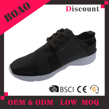 hot selling lasted design wholesale PU breathable mesh men shoes casual sneakers