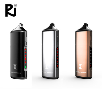 Factory direct price herb vaporizer no combustion black widow with red light e cigarette usb dry herbs