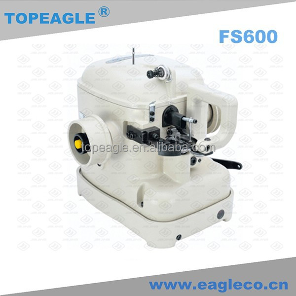 TOPEAGLE FS600 Automatic Lubrication Medium Furs Heavy Leathers Fur/Leather Sewing Machine Upper Drawing Machine
