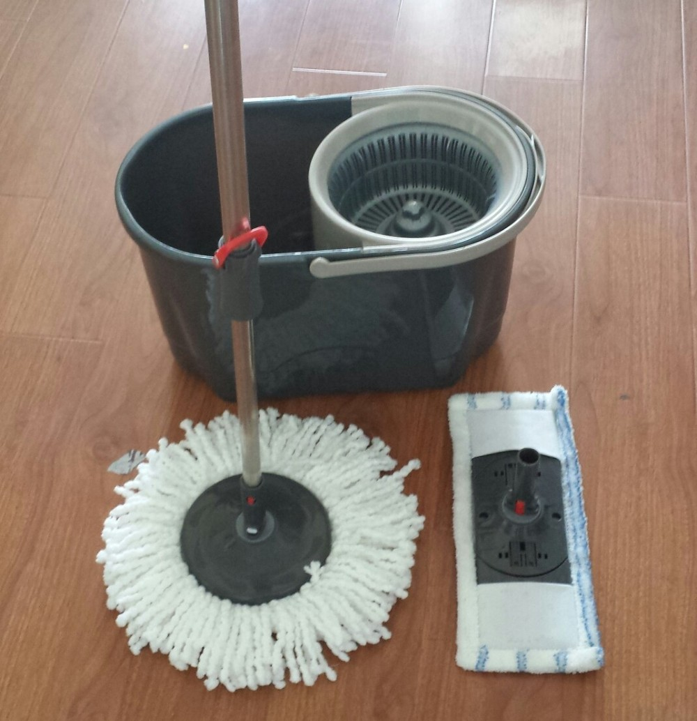 hand press 360 rotating magic mop