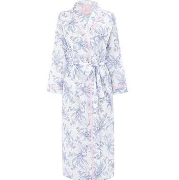 Oem Cheap Soft Print Seascape Custom Design Pattern Women Bathrobe ...