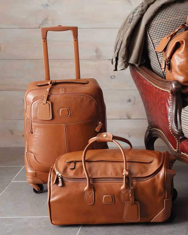 Soft Genuine Luxury Leather Travel Luggage Sets - Buy Leather ...