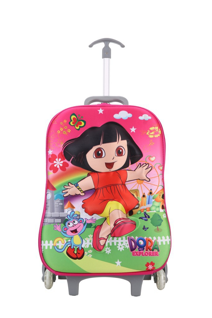 a0a6ff878 Buy 16 Inch Baby Girls Dora Luggage Bag/Children Cute Hello Kitty Wheeled  School Trolley Bag/Kids 3D Cartoon Design Suitcase in Cheap Price on  m.alibaba.com