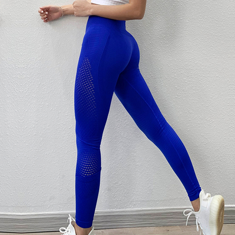 AMESIN YLP053 Groothandel Compressie Naadloze Fitness Workout Leggings