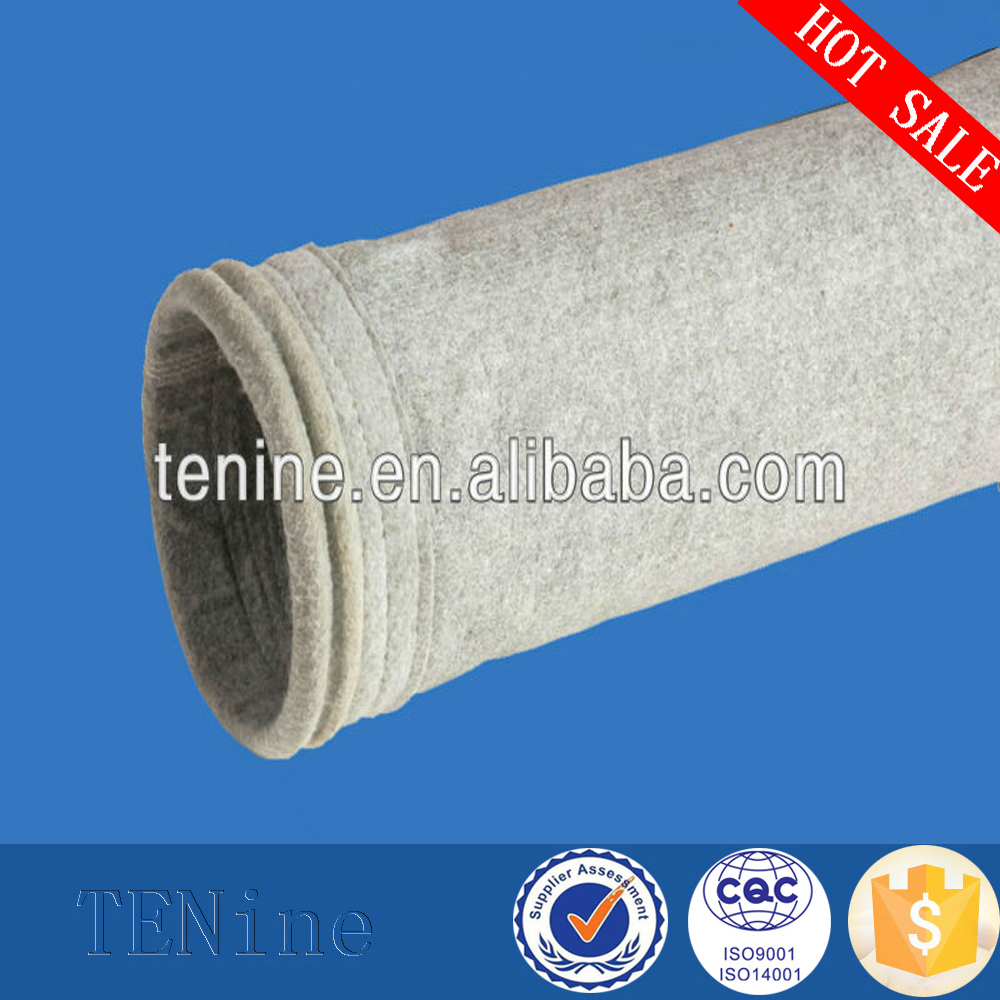 Filtration fabric air dust filter bag