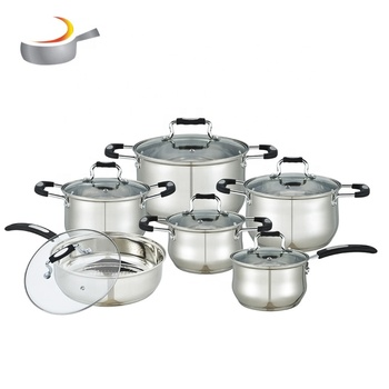 Masterclass premium cookware 12 piece aristocrat die cast pot cookware set stainless steel royal prestige induction cook ware