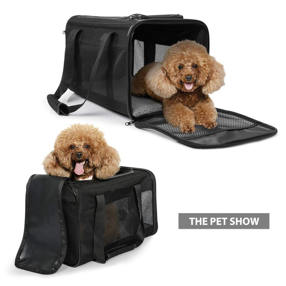 2018 Made in China <strong>Trade</strong> Show Durable Mesh Packaging Pet Bag for Carring Big Pets