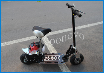 49cc stand up sit down 2 stroke gas scooter buy china for Stand on scooters with motor