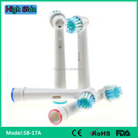 High Quality Brush Heads For Electrical Toothbrush Braun Oral B SB-17A