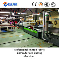 Industrial Cloth End Cutter Straight Knife Textile/Fabric Cutting Machine