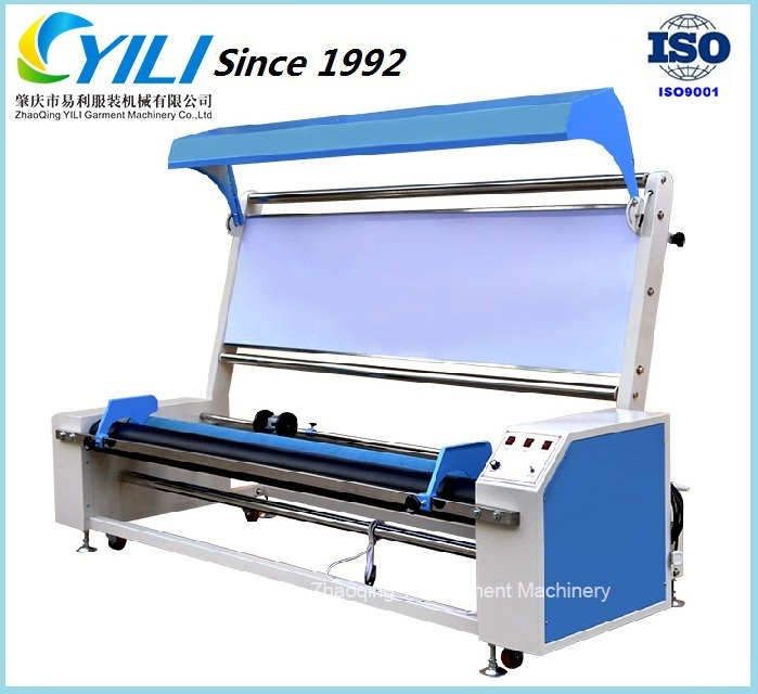 Small woven fabric inspection winding machine for textile finishing