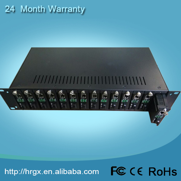 Free sample available 14 slots rack mounted fiber patch panel