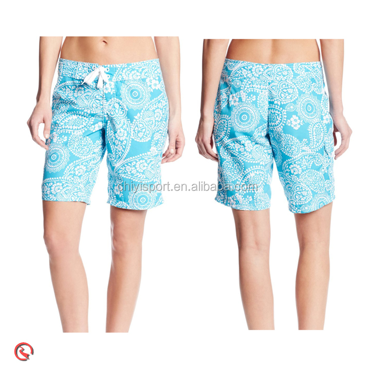 Full sublimation printed men's beach shorts, surfer shorts