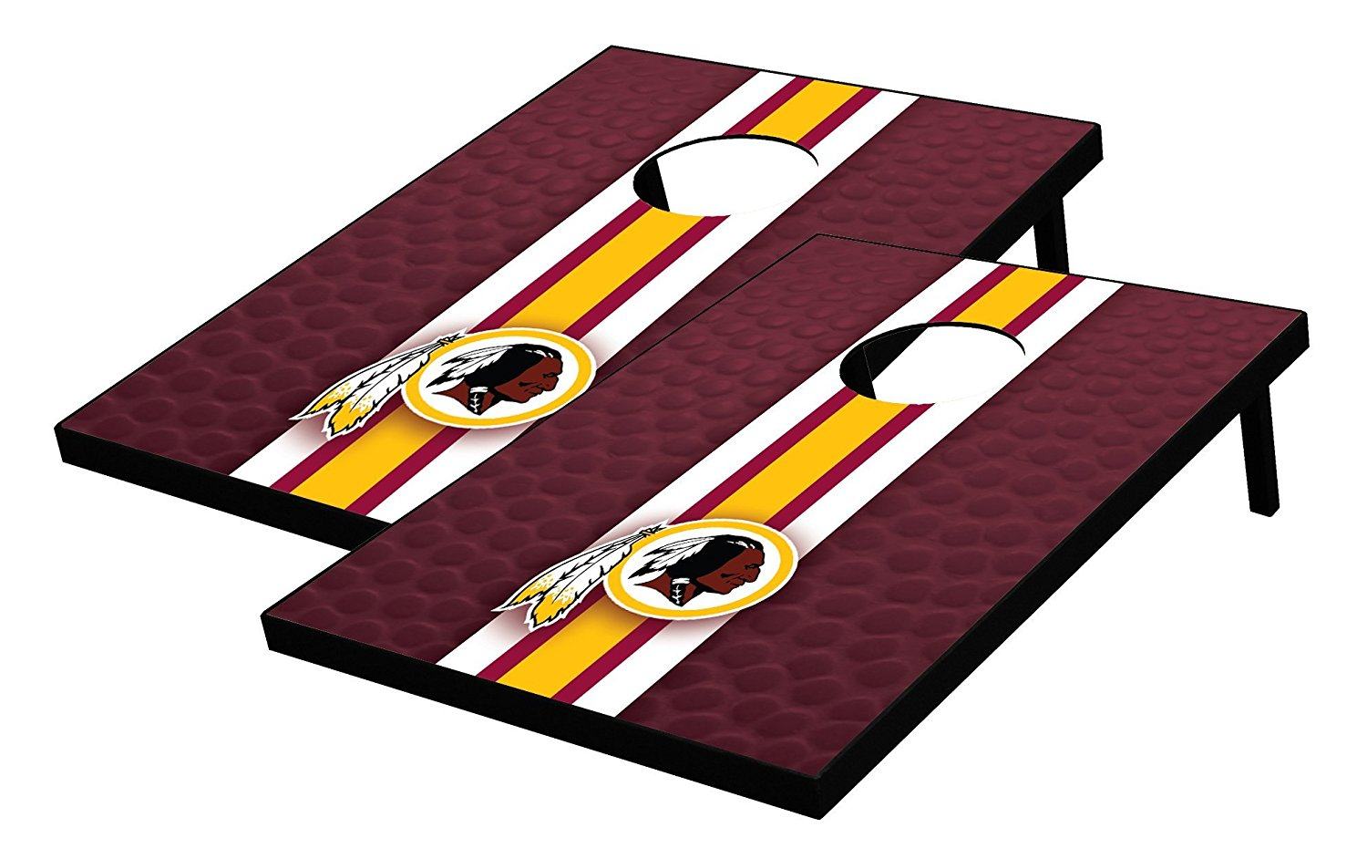 NFL Washington Redskins Tailgate Toss Bean Bag Game Set, Multicolor, One Size