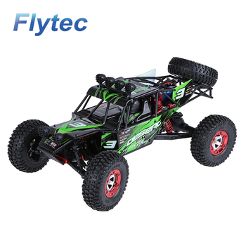 Flytec Original FY03 EAGLE 3 1/12 Alloy Classis 4WD 2.4G Full Scale Desert Off-road Truck RC Car