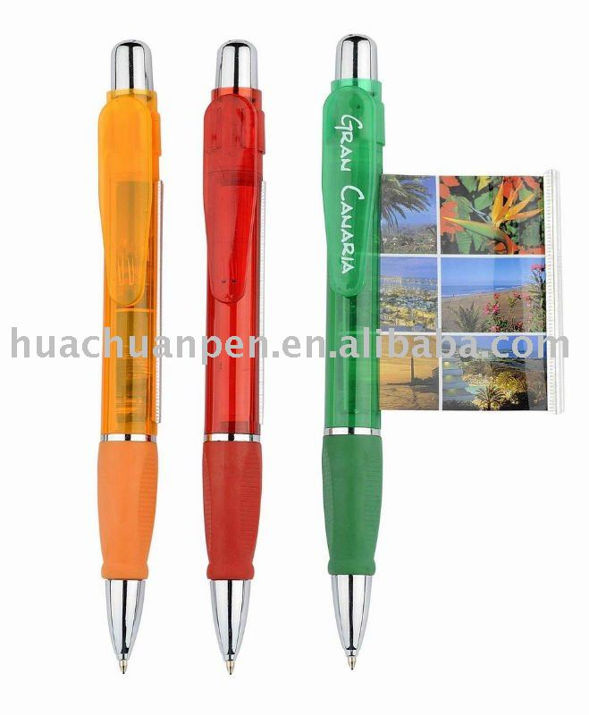 promotional jumbo banner pen with smooth grip