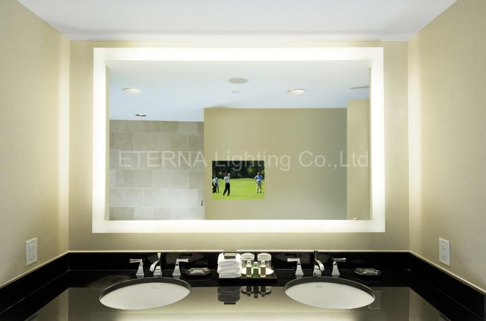 Eterna Bathroom Led Light Mirror Smart Remote Control Lcd Salon Tv ...