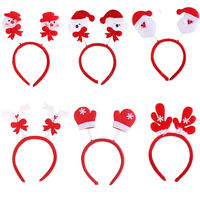 Adult Kids Christmas Xmas Party Headband Hat Costume Hair Clip Reindeer Santa SA1677