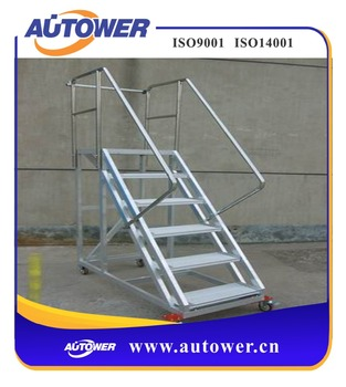 Industrial Foldable Ladder Stair For Petrochemical Industry