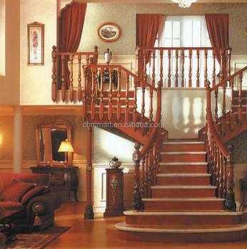 Madera De Lujo Diseño De Escalera/escalera Interior Diseños - Buy ...