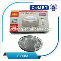 G-808A high quality Optical Instruments magnifying glass,bright field dome magnifying glass