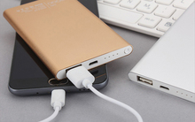 OEM Xiaomi Portable Charger/Power Bank 2600mah 4000mAh for phone with Customized logo for christmas gift