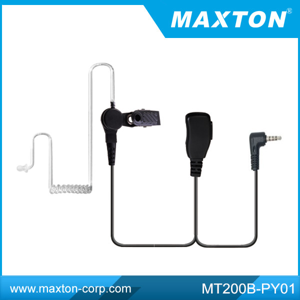 Bodyguard Air-tube headset for Vertex VX-410,FT-10R two way radio