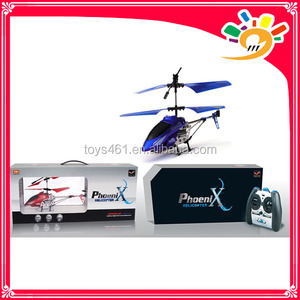 PF908 3.5 Channel Metal RC Helicopter W/Gyro 25CM