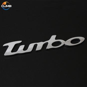 Car Brand Name 3 Mm Thick Adhesive Chrome Plastic Alphabet Letter