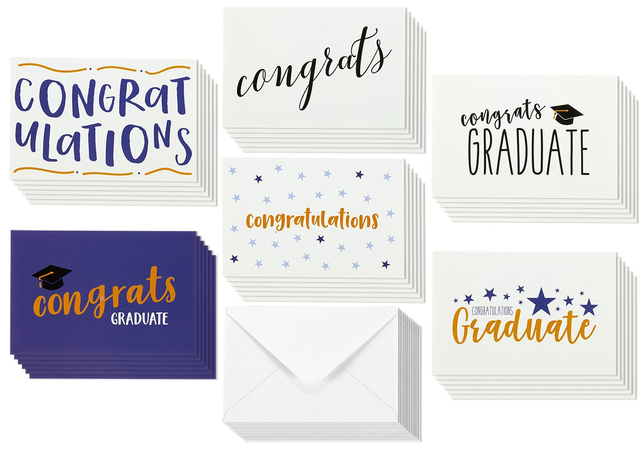 Buy 36 Pack Graduation Cards Blank Greeting Cards Greeting Cards