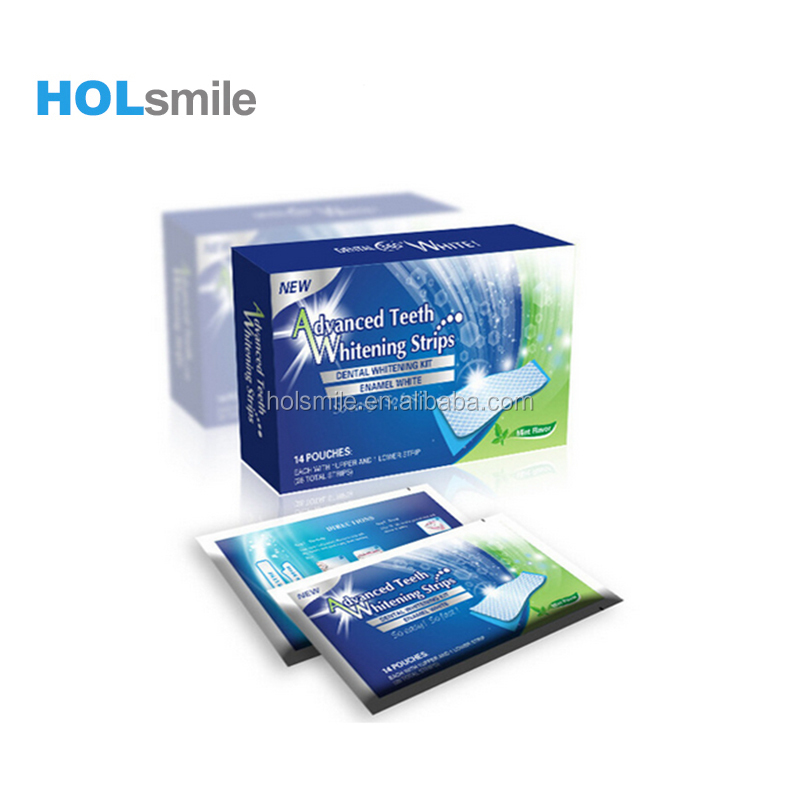 14 packed/28 pcs wholesale teeth whitening strips
