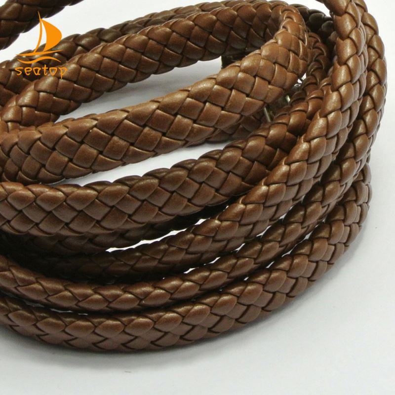 stingray braided leather cord for necklace
