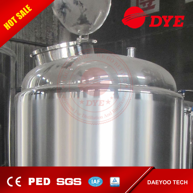 2000L stainless steel frequently used hot water tanks for sale