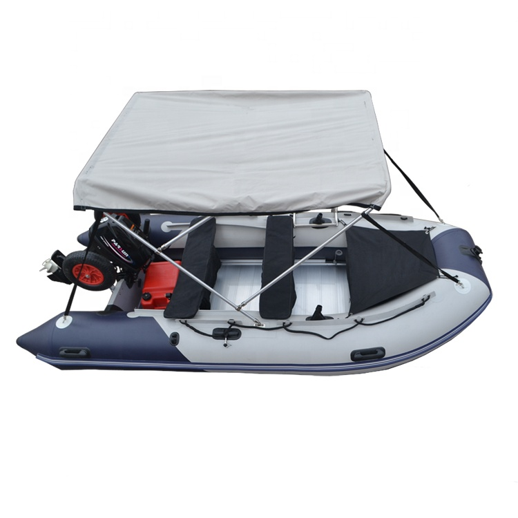 2019Year Factory Boat 11FT Aluminum Floor Inflatable Boat For Sale фото