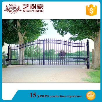 2016 Latest Main Gate Designs/iron Pipe Gate Design/main Gate ...