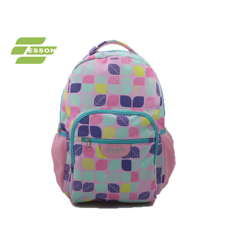 2018 New Design New Printing School Backpack