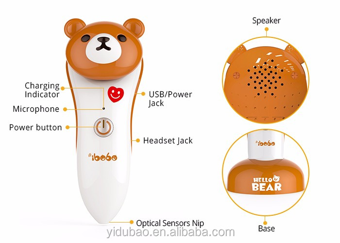Smart Eco - friendly Material customized reading pen for kids