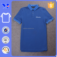 Golf wear little logo left front plain color pique plain polo t-shirt