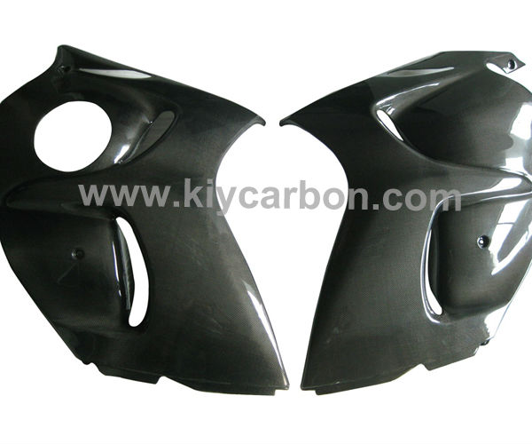 Carbon fibre side panels motorcycle parts for Suzuki GSX1300 R Hayabusa