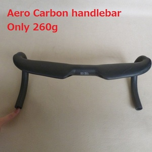Cheap aero carbon handle bar for road bike internal cable routing 400/420/440cm*31.8mm