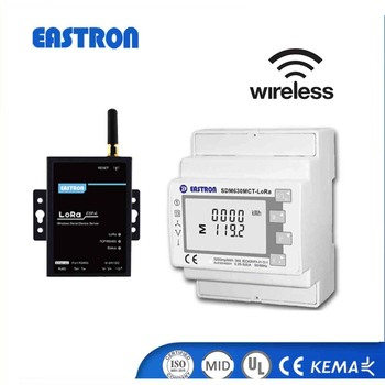 SDM630MCT - Lora MID approved Three Phase wireless energy meter with long  distance communication, View SDM630MCT - Lora MID approved, Eastron Product