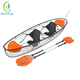 Wholesale cheap price 2 person polycarbonate plastic transparent canoe kayak