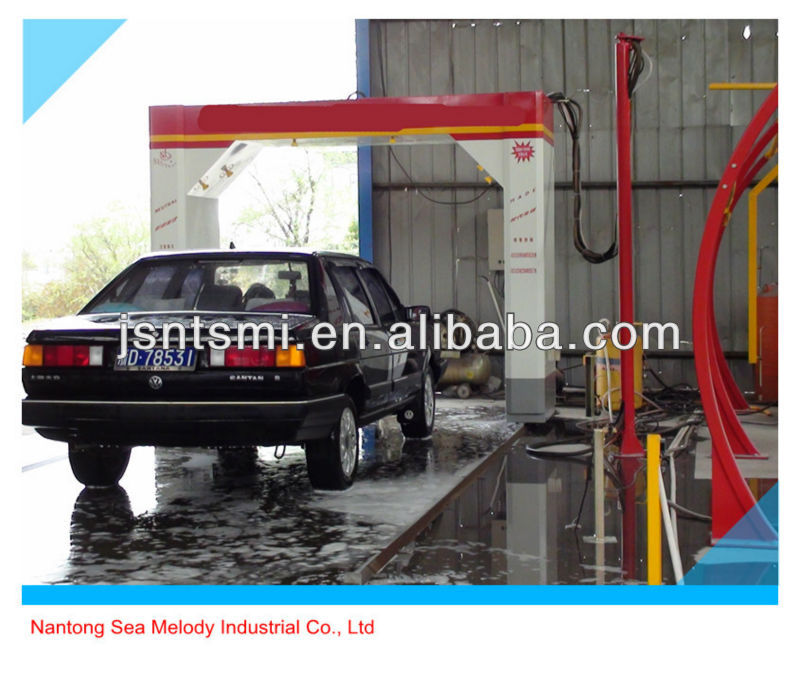 360 degree touchless automatic car wash machine