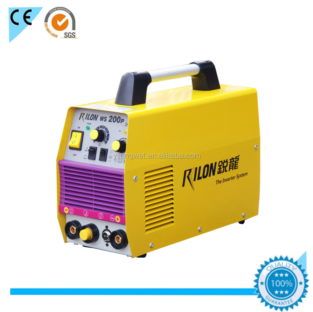 WS 200P inverter dc TIG/ MMA pulse inverter welders 200